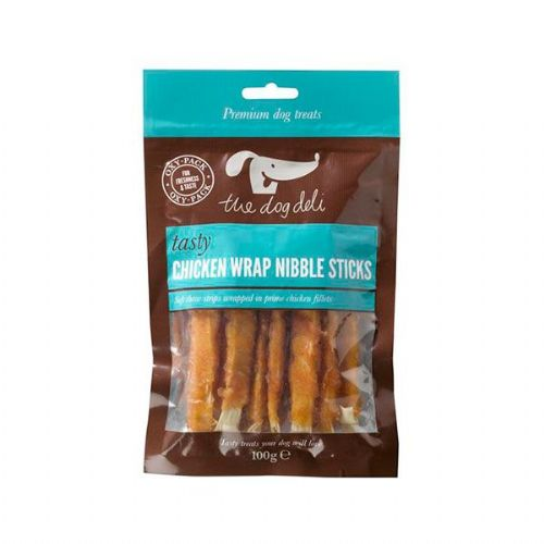 Chicken Wrap Sticks 100g